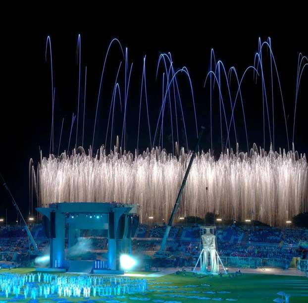 Cerimonie di Apertura e Chiusura XVI Giochi del Mediterraneo